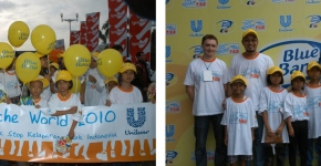 End Hunger 'Walk the World'