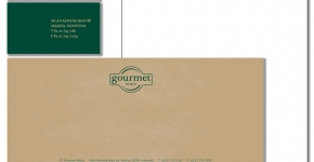 Gourmet World Marketing Collateral
