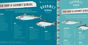 """Gourmet World Fish Promo Poster 2013"""