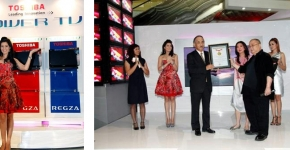 Toshiba Regza Power TV and New Brand Ambassador Launch