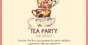Tea Party Tentcard Design 2014