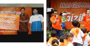 Sari Husada National Nutrition Day with Gizikita 2011