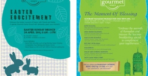 2011 Gourmet World Promo Collateral