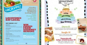 2012 Gourmet World Promo Collateral