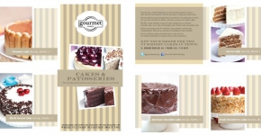 Gourmet World Cake Brochure