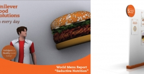 "Unilever Food Solitions inspiration Every Day 2012.  World Menu Report ""Seductive Nutrition"""