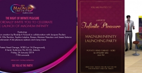 "Magnum Launching Party 2014. ""A Night of Infinite of Pleasure"""