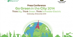 "Schneider Electric 2013. ""Think Big, Think Green, Think Schneider Electric"""