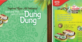 "Wall's Dung Dung Press Conference 2012. ""Inspirasi Rasa Asli Indonesia"""