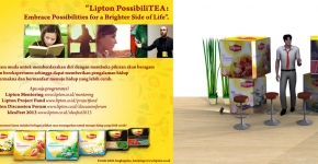 "Lipton PossibiliTEA 201. ""Embrace Possibilities for a Brighter Side of Life"""