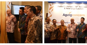 Media Conference and Launching New Logo of Agung Concern